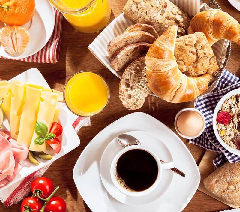 Das Frühstück am Tschengghof