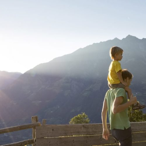Impressionen vom Tschengghof in Tisens/Südtirol und Umgebung
