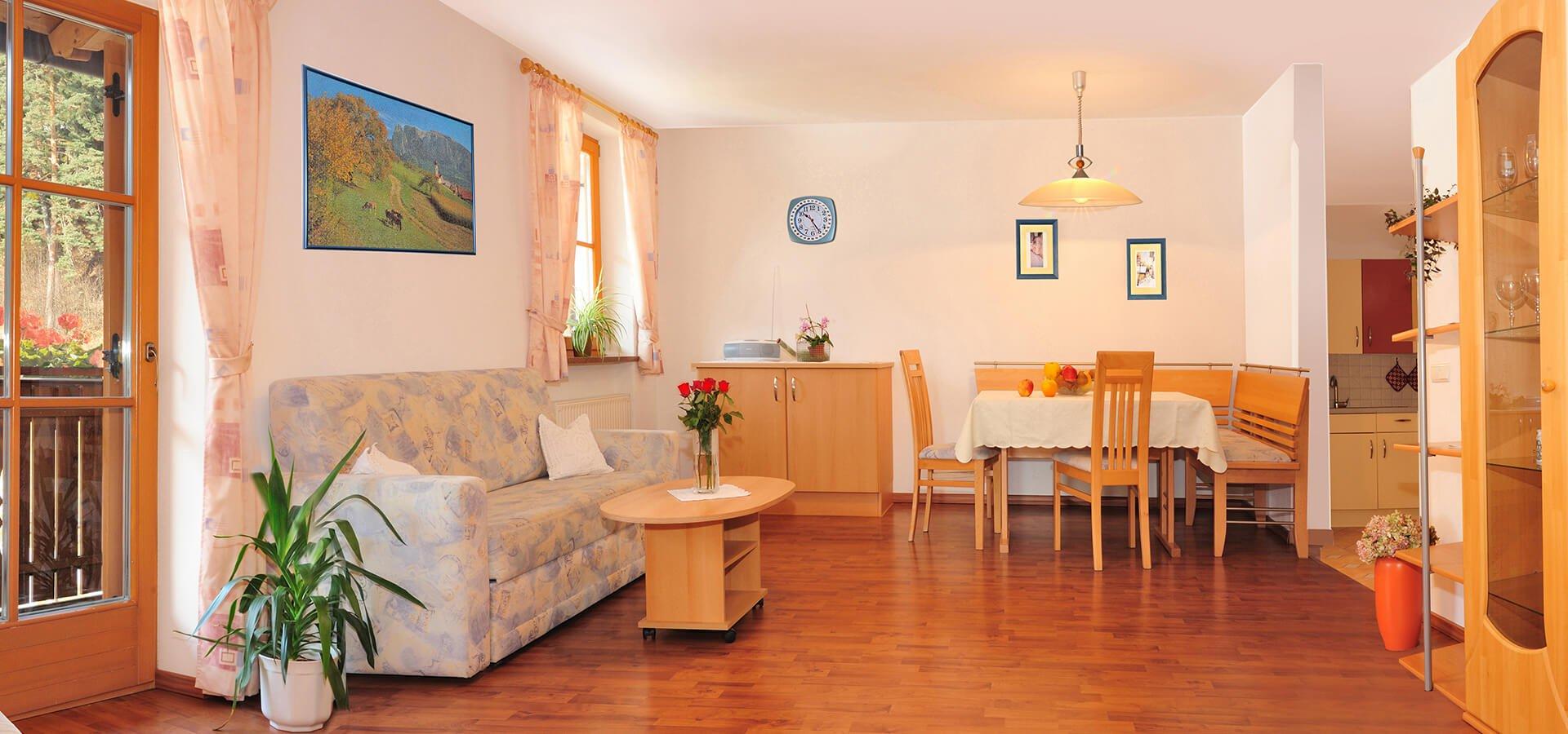 Urlaub in Meran in Südtirol - Ferienwohnung Tisens
